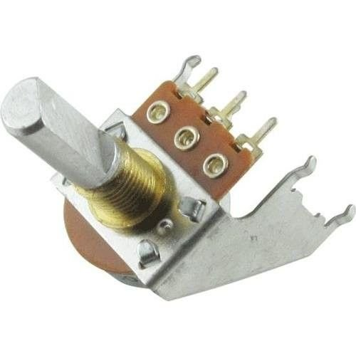(Fender 10K Audio Taper Snap-In Solid-Shaft Potentiometer for '65 Twin, '65 Super Reverb and Custom Vibrasonic Amplifiers ('92-Present))