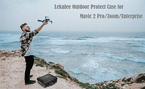 LEKUFEE Valise de Transport imperméable pour DJI Mavic Pro 2/Mavic 2 Pro Zoom Accessoires