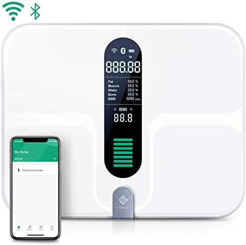 Etekcity Smart Scale Rechargeable Bluetooth
