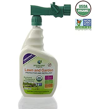 Ecosmart 33127 organic mosquito and tick - Natural insect repellent for gardens ...