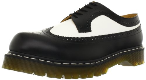 Black Womens 3989 Martens Shoes eyelet Leather Smooth Bex 5 Brogue white Dr gfnAxzf