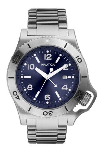 Nautica A16551 - Reloj de caballero - sumergible a 100 metros: Amazon.es: Relojes