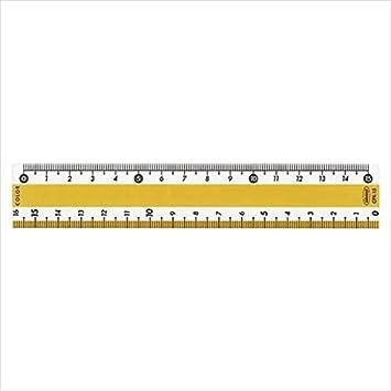 【クリックで詳細表示】<title>Amazon.co.jp: 共栄プラスチック:カラー直線定規 イエロー 目盛:15cm CPK-15-Y 10552: DIY・工具・ガーデン</title>