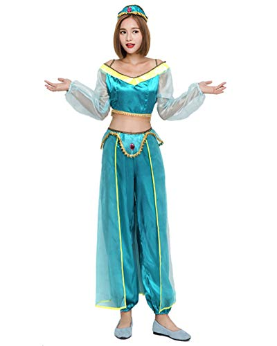 mewow Halloween Costume Women's Sexy Arab Princess