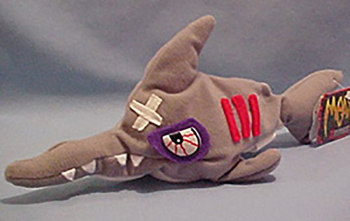 Meanies Sledge The Hammered Head Shark Series 1 Bean Bag Plush Toy from The Idea Factory from Meanies