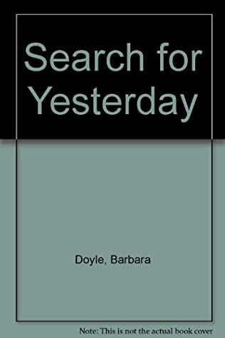 book cover of Search for Yesterday