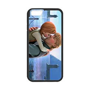 iPhone 6 4.7 Inch Cell Phone Case Covers Black Frozen Character Anna pxj