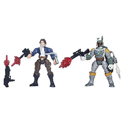 Star Wars Hero Mashers Han Solo vs. Boba Fett