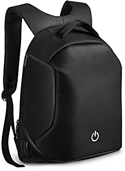 HOMIEE Anti-theft Unisex Laptop Backpack with USB Charging Port