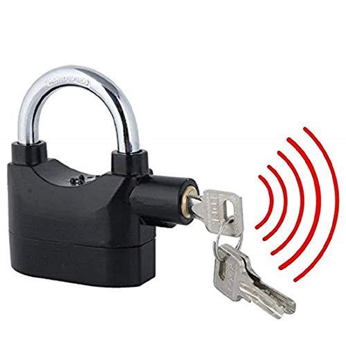 Retail Paratpar Anti Theft System Security Zinc Alloy Pad Lock with Burglar Smart Alarm Siren Motion Sensor Secure for…