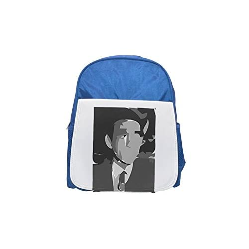 Akram hawrani Abstraction Printed Kid 's Blue Backpack, Cute de mochilas, Cute Small de mochilas, Cute Black Backpack, Cool Black Backpack, Fashion de mochilas, large Fashion de mochilas, Black Fashion BACKPAC
