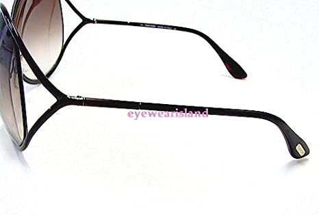cfefa3f1512d TOM FORD Lilliana TF131 TF-131 Chocolate Brown 48F Frame Sunglasses   Amazon.co.uk  Clothing