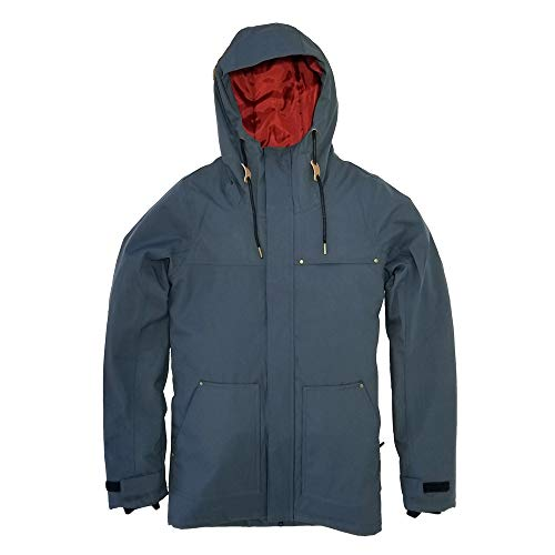 Special Blend Series 19 | Mens Snowboard/Ski Jacket (Steel Blue, Medium)