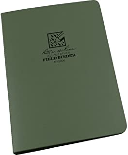 """product image for 1/2"""" Six Ring Field Round Binder,Green"""