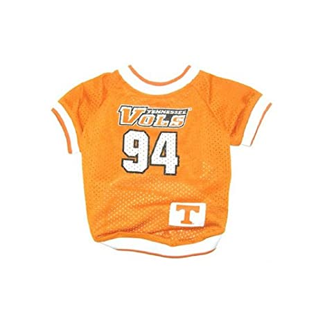 buy online 6b0b6 93285 Dog Supplies Tennessee Vols Jersey Medium