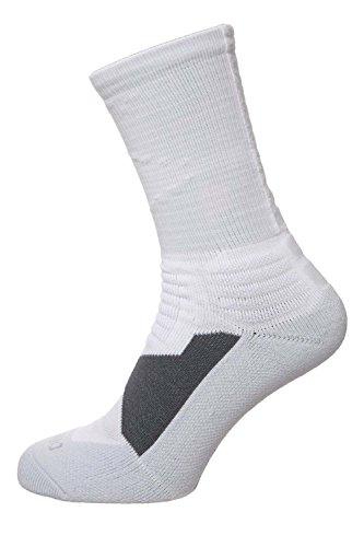 Nike Performance Mens Hyper Elite Socks white/pure platin...