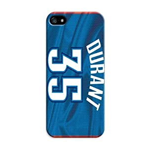 TYH - Nba Oklahoma City Thunder Print Tpu Rubber Case For Iphone 5C - For Basketball Fans ending phone case