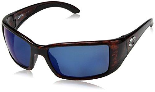 Costa Del Mar - Blackfin - Tortoise Frame-Green Mirror 400 Glass Lenses ()