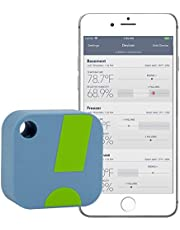 SensorPush Wireless Thermometer / Hygrometer for iPhone / Android - Humidity & Temperature Smart Sensor with Alerts. App disponible en Français