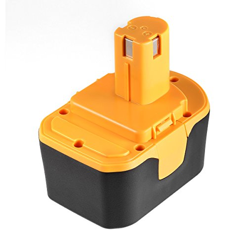 Driver 14v Drill - Powerextra Ryobi 14.4V 3000mAh Replacement Battery Compatible with Ryobi HP1441 HP1441M HP1441MK2 HP1442M HP1442MK2 HP7200K2 HP7200MK2 HP7200NK2 Cordless Drill-Driver