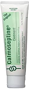 Calmoseptine diaper rash ointment tube 4 oz ( pack of 6)