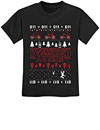 TeeStars - Merry Christmas The Upside Down Ugly Christmas Youth Kids T-Shirt
