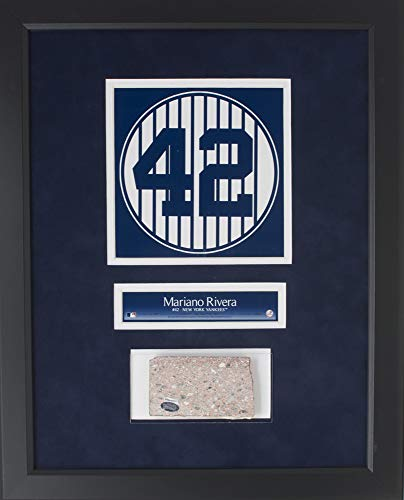 - MARIANO RIVERA OLD YANKEE STADIUM #42 GAME USED MONUMENT PARK BRICK PLAQUE FRAME