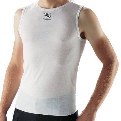 Giordana Sleeveless Base Layer White, XL - (Sleeveless Base)