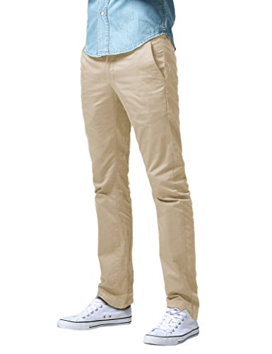 (Match Men's Slim Fit Straight Leg Casual Pants (29, 8036 Skin))