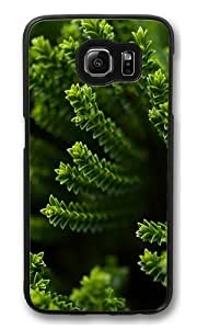 Green Plant PC Case Cover for Samsung S6 and Samsung Galaxy S6 Black Kimberly Kurzendoerfer