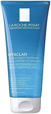 La Roche-Posay Effaclar Purifying Foaming Gel Cleanser for Oily Skin, 6.76  Fl Oz.