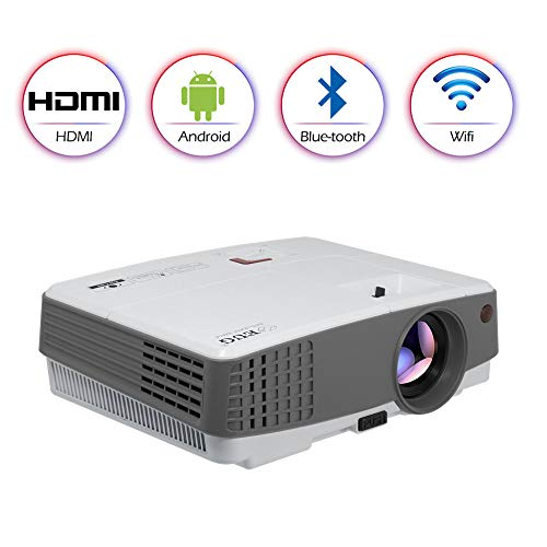 LCD Smart Wireless Bluetooth Projector...