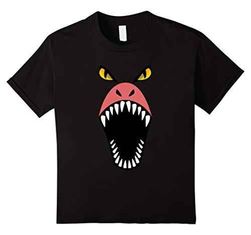 Kids Dragon Shirt Halloween Costume Scary Funny for Kids Adults 10 (Diy Scary Halloween Costumes For Adults)