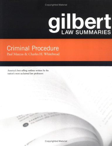 Gilbert Law Summaries: Criminal Procedure