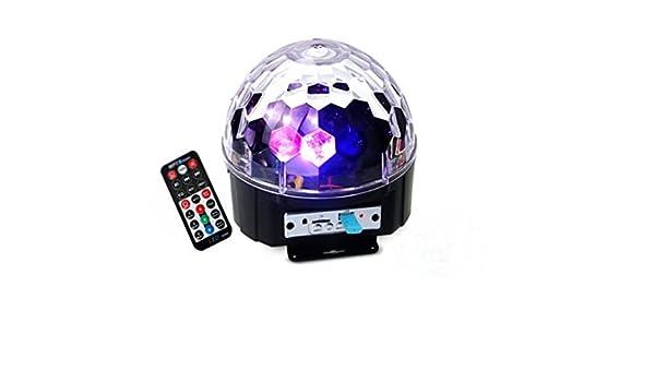 Balón de cristal mágico de 9 colores con iluminación LED de ...