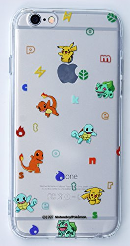 Pokemon Go TPU Cover Cases For iPhone 6 Plus, 6S Plus (5.5 inch), (N14) Photo - Pokemon Gaming