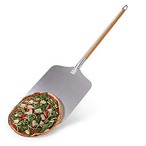 Blumtal Pala per Pizza e Pane, Manico in Legno Staccabile e Pala Pizza in Alluminio, Pala Pizza, 30,5 x 30,5 cm 2