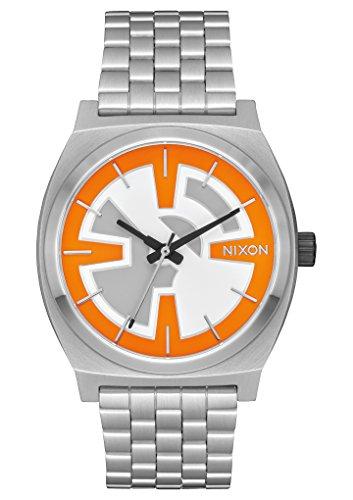 Nixon Unisex Time Teller - Star Wars Collection Bb-8 Orange/Black Watch by NIXON