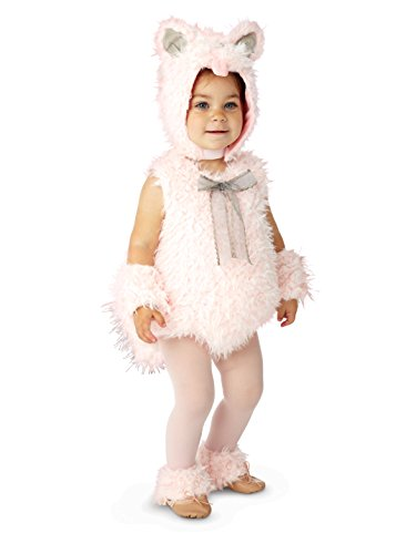 Princess Paradise Shaggy Pink Kitty Costume, 18 Months - 2T