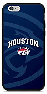 Coveroo Switchback Case for iPhone 6 - Retail Packaging - Black/University of Houston Cougars Blue Design