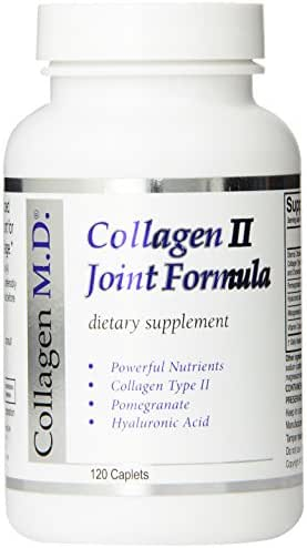 Collagen MD Type II Joint Formula Capsules, 120 Count
