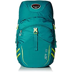 Osprey Youth Jet 18 Backpack, Real Teal, One Size