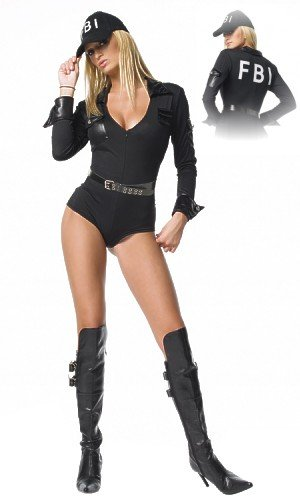 Womens Fbi Costume (FBI Costume - X-Large - Dress Size 14-16)