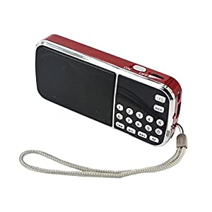 Portable HIFI Mini Multifunctional Digital MP3 Radio Speaker USB TF FM Radio GN5