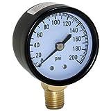 WATER SOURCE M2002-4L 200LB Pressure Gauge