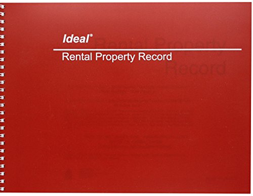 Dome Publishing Rental Property Record Book (DOMM2512) by ideal.