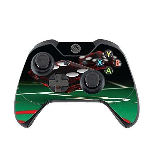 Craps Casino Dice Xbox One Controller Vinyl Decal Sticker Skin by Moonlight Printing