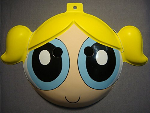 Powerpuff Girl Costume Makeup (THE POWERPUFF GIRLS BUBBLES HALLOWEEN MASK PVC NEW)