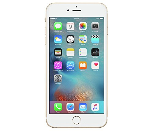 "APPLE IPHONE 6S PLUS 128GB A1687 5.5"" INCH GOLD FACTORY UNLO"