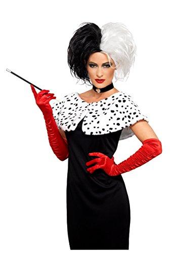 Adult Deluxe Cruel Madame Wig Standard (Adult Cruella De Vil Costume)
